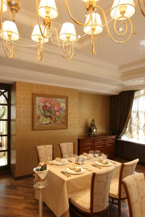 Гостевой дом. столовая из проекта , фото №26384