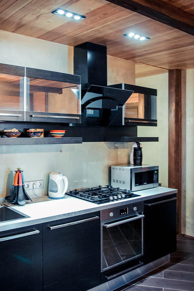 Гостевой дом. кухня из проекта , фото №48858