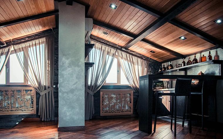 Гостевой дом. гостиная из проекта , фото №48870