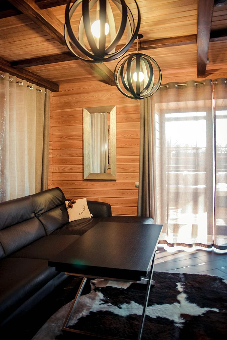 Гостевой дом. гостиная из проекта , фото №48850