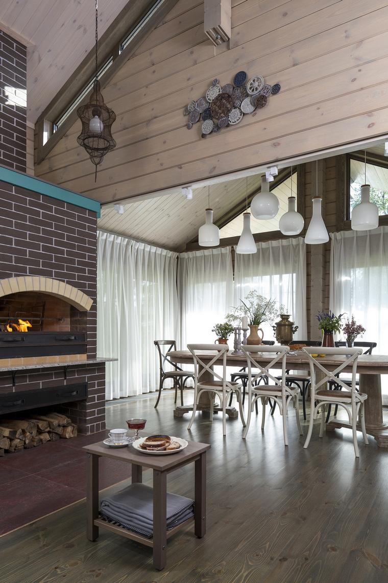 Гостевой дом. столовая из проекта , фото №64037