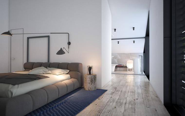 Гостевой дом. спальня из проекта Загородный гостевой дом, фото №78136