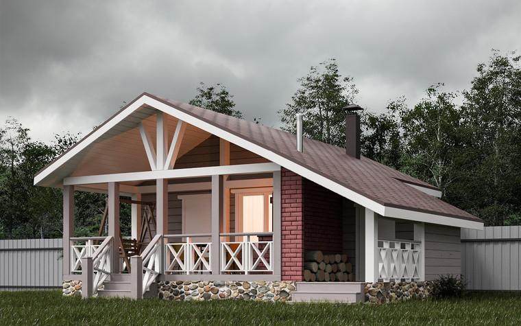 Гостевой дом. баня сауна из проекта Гостевой дом-баня, фото №93333
