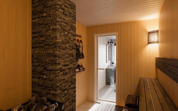 Гостевой дом. баня сауна из проекта Гостевой дом-баня, фото №93336