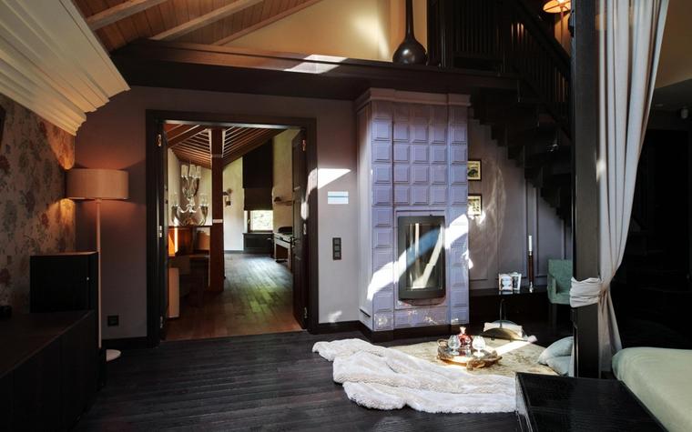 Гостевой дом. спальня из проекта , фото №7401