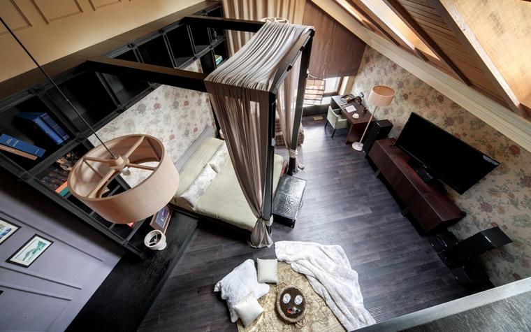 Гостевой дом. спальня из проекта , фото №7405