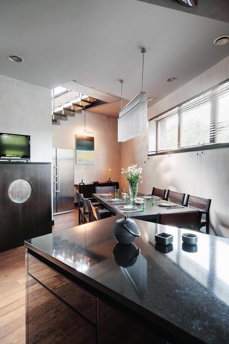 Гостевой дом. столовая из проекта , фото №7406