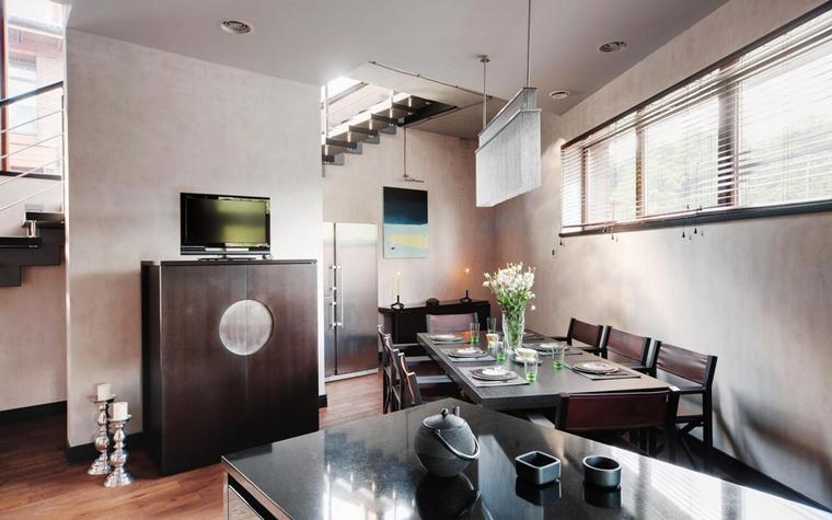 Гостевой дом. столовая из проекта , фото №7407