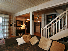 Фото гостиная Гостевой дом