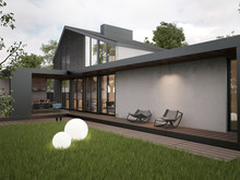 Гостевой дом «Загородный гостевой дом», участок . Фото № 24668, автор Zooi design studio