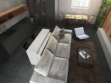 Мужской стиль в интерьере дома , фото № 7153, Логвинова  Екатерина