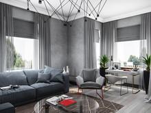 Загородный дом «Жилой дом в Керро», кабинет . Фото № 26582, автор Fisheye Architecture & Design   Александр