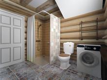 Гостевой дом «Первым делом самолеты», ванная . Фото № 26758, автор Романовская Виталия