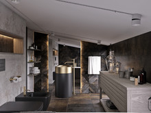 Гостевой дом «UI007», ванная . Фото № 27441, автор U-Style