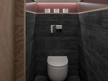 Гостевой дом «Гостевой дом с баней», санузел . Фото № 30443, автор Сапрыкина Светлана