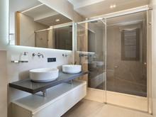Гостевой дом «Дизайн гостевого дома 85 м2», ванная . Фото № 31384, автор Archconcept Черняева Юлия