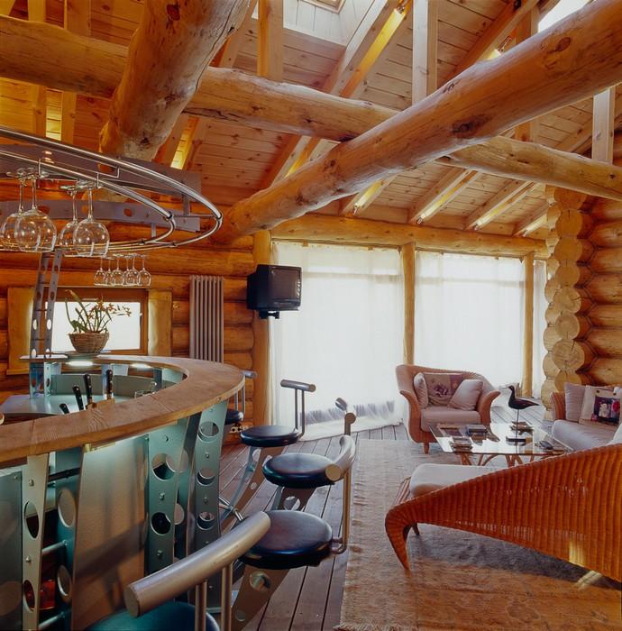 Гостевой дом «», гостиная, фото из проекта