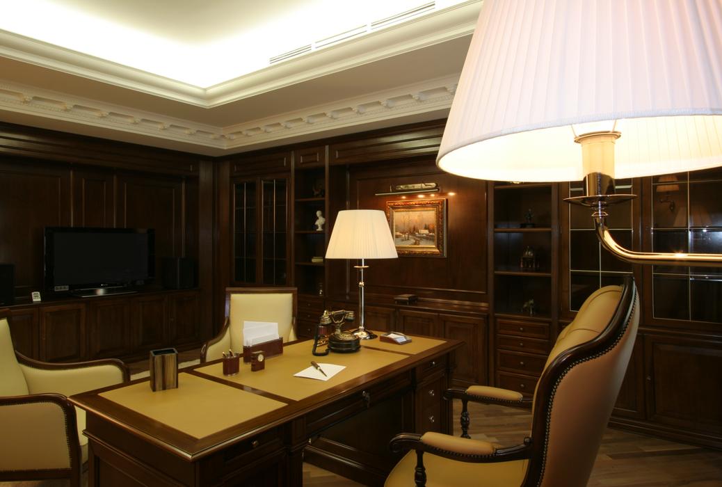 Фото кабинет библиотека Гостевой дом