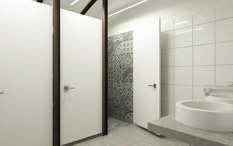 Общественные помещения. санузел из проекта Санузел для МАРХИ, фото №75222