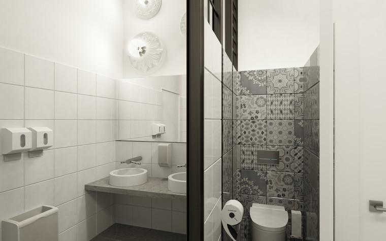 Общественные помещения. санузел из проекта Санузел для МАРХИ, фото №75215