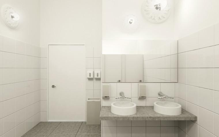 Общественные помещения. санузел из проекта Санузел для МАРХИ, фото №75216