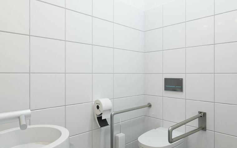 Общественные помещения. санузел из проекта Санузел для МАРХИ, фото №75217