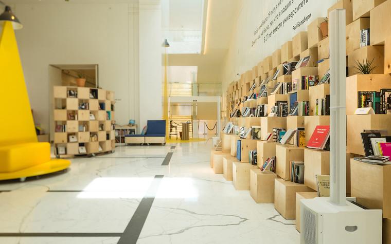 Общественные помещения. учебные заведения  из проекта Временная библиотека, фото №78357