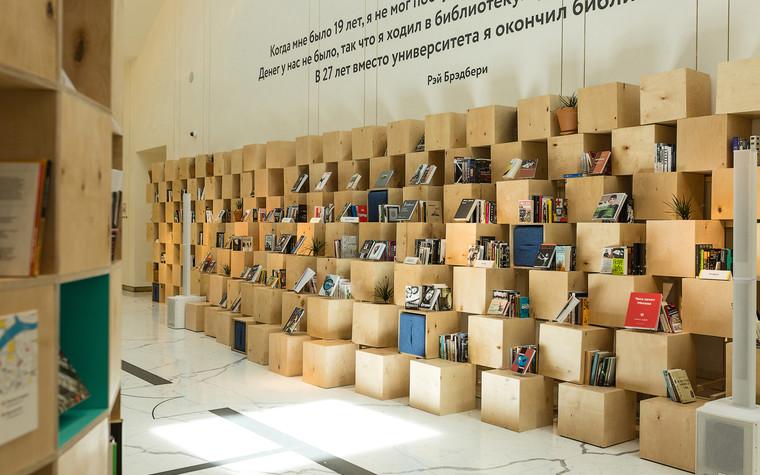 Общественные помещения. учебные заведения  из проекта Временная библиотека, фото №78359