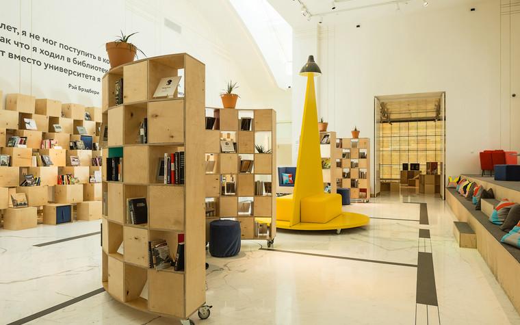 Общественные помещения. учебные заведения  из проекта Временная библиотека, фото №78349