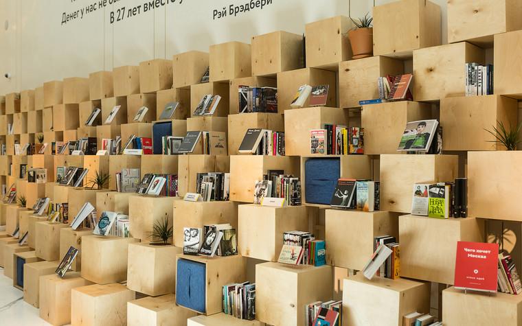 Общественные помещения. учебные заведения  из проекта Временная библиотека, фото №78352