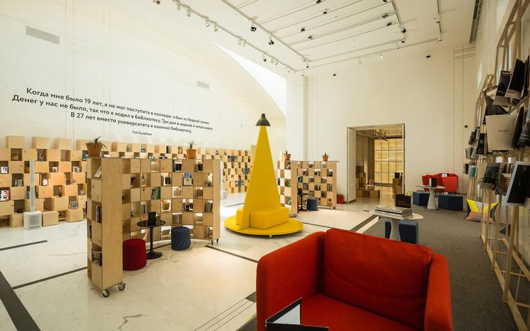 Общественные помещения. учебные заведения  из проекта Временная библиотека, фото №78353