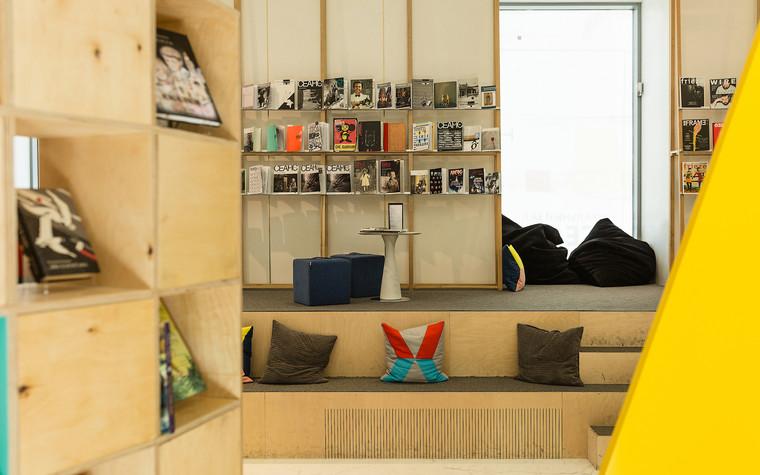 Общественные помещения. учебные заведения  из проекта Временная библиотека, фото №78356