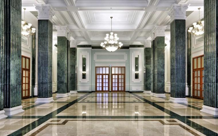 Общественные помещения. общественные здания  из проекта Посольство РФ а Ашхабаде. Туркменистан, фото №80073
