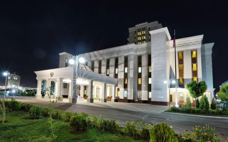 Общественные помещения. общественные здания  из проекта Посольство РФ а Ашхабаде. Туркменистан, фото №80065