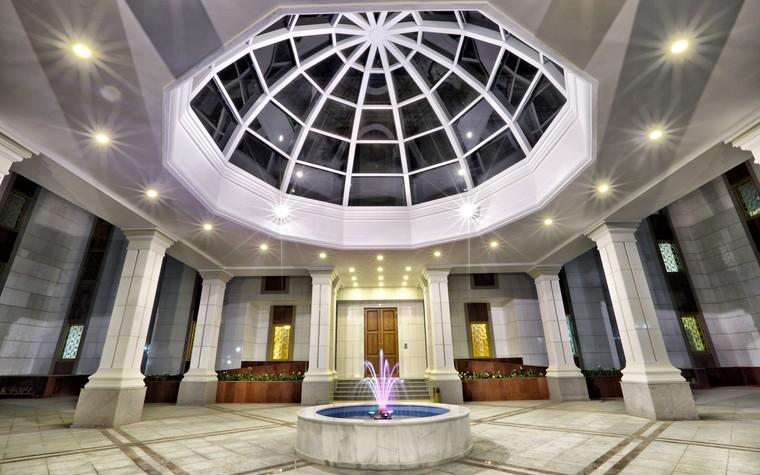 Общественные помещения. общественные здания  из проекта Посольство РФ а Ашхабаде. Туркменистан, фото №80069