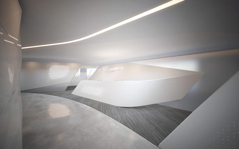 Дизайн офиса. офисы из проекта Офис Газпром-нефть.Лахта центр, фото №95779