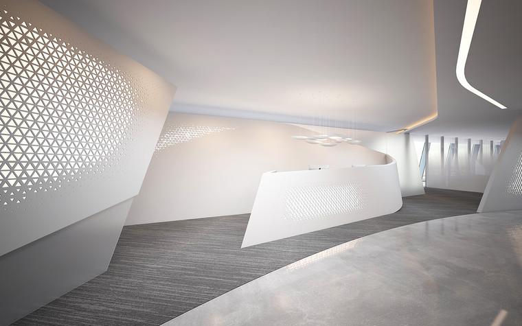 Дизайн офиса. офисы из проекта Офис Газпром-нефть.Лахта центр, фото №95781