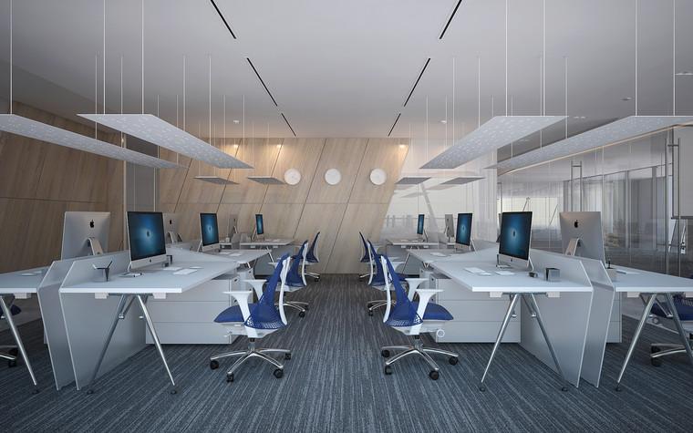 Дизайн офиса. офисы из проекта Офис Газпром-нефть.Лахта центр, фото №95784