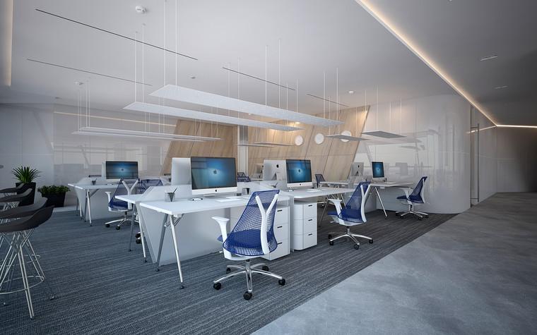 Дизайн офиса. офисы из проекта Офис Газпром-нефть.Лахта центр, фото №95785