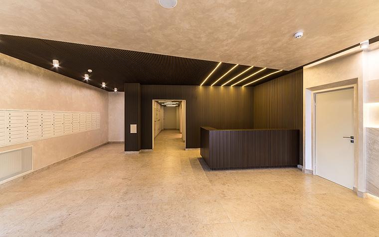 Многоквартирный дом. холл из проекта , фото №54629