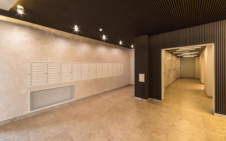 Многоквартирный дом. холл из проекта , фото №54635