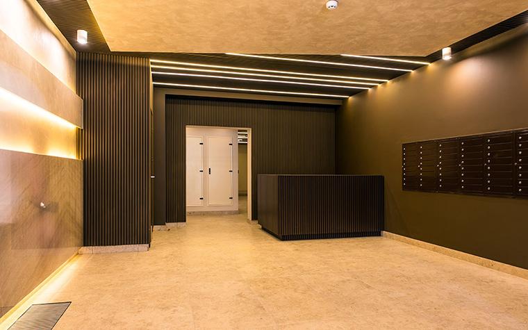 Многоквартирный дом. холл из проекта , фото №54618