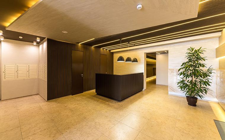 Многоквартирный дом. холл из проекта , фото №54636
