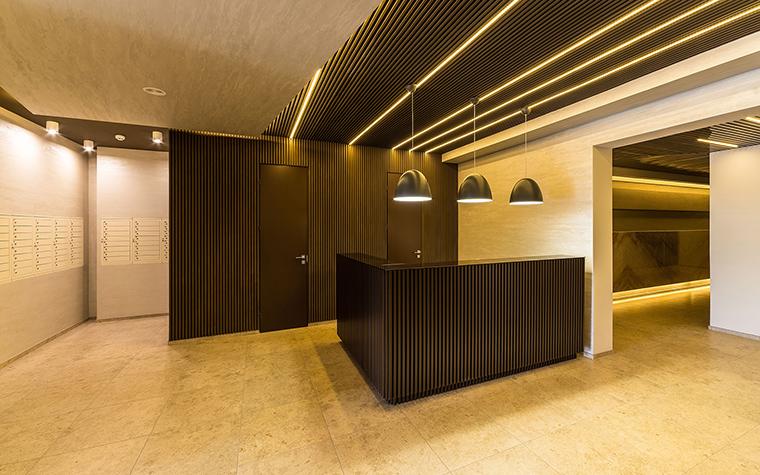 Многоквартирный дом. холл из проекта , фото №54637