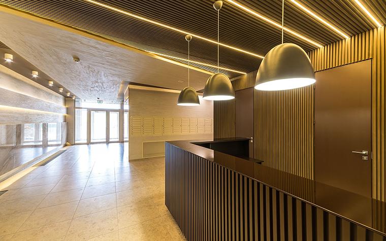 Многоквартирный дом. холл из проекта , фото №54648
