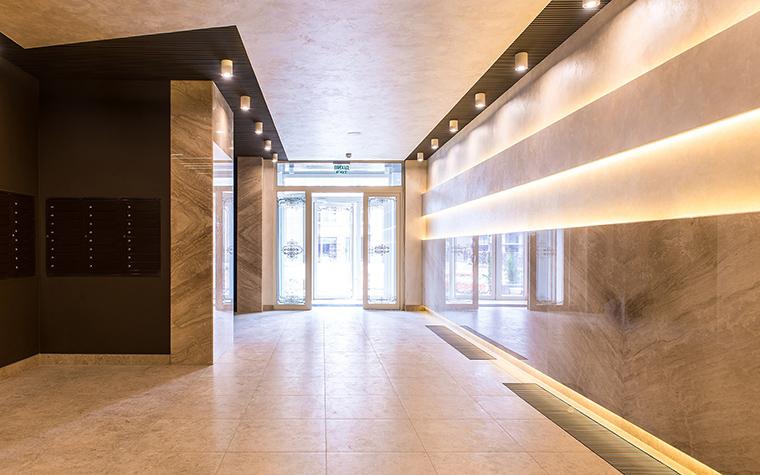 Многоквартирный дом. холл из проекта , фото №54620
