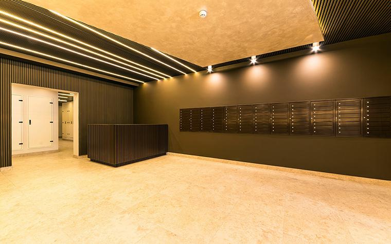 Многоквартирный дом. холл из проекта , фото №54624