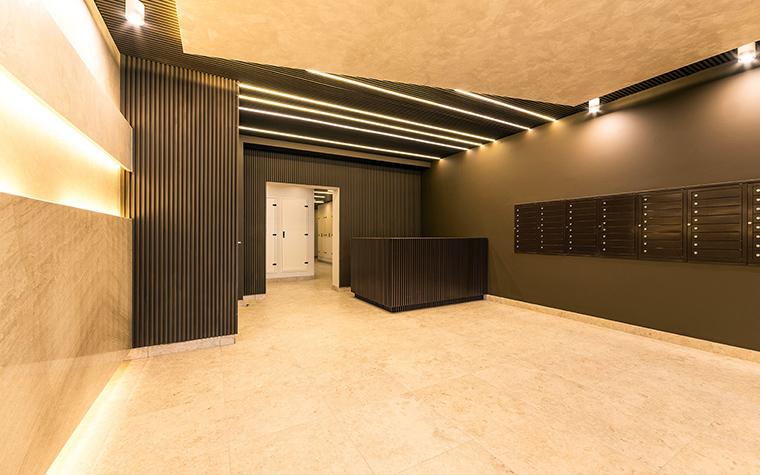Многоквартирный дом. холл из проекта , фото №54625