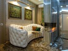 Квартира «арт-квартира на Мичуринском просекте», гостиная . Фото № 28469, автор Муратов Александр
