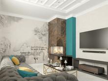 Квартира «Проект дома Новая Рига», гостиная . Фото № 31684, автор Голубев Алексей